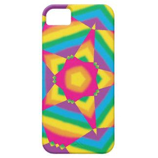 Regalos y casos retros del arte pop del Hippie del Funda Para iPhone SE/5/5s
