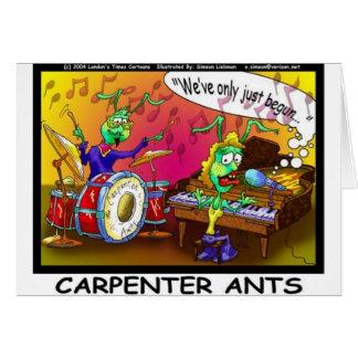 Regalos y coleccionables divertidos de las hormiga tarjeta de felicitación