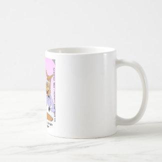 Regalos y coleccionables divertidos del rábano pic taza básica blanca
