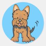 Regalos y mercancía de Yorkshire Terrier Etiquetas