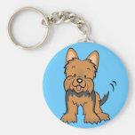 Regalos y mercancía de Yorkshire Terrier Llaveros