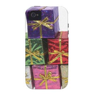Regalos y presentes del navidad iPhone 4 carcasas