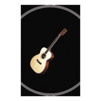 """Regalos y productos del diseño """"de la guitarra papelería"""