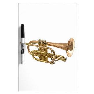 """Regalos y productos del diseño de la """"trompeta"""" pizarras blancas"""