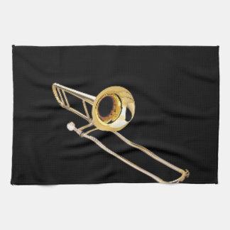 """Regalos y productos del diseño del """"Trombone"""" Toalla De Mano"""