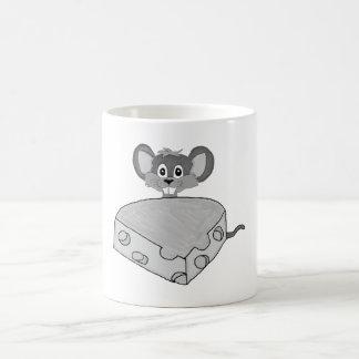 Regalos y productos lindos del ratón taza básica blanca