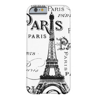 Regalos y recuerdos de París Francia Funda De iPhone 6 Barely There