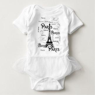 Regalos y recuerdos de París Francia Mameluco De Bebé