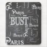 Regalos y recuerdos de París Francia Alfombrilla De Ratones