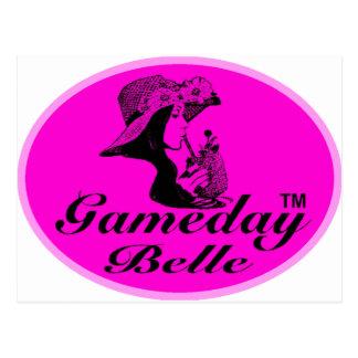 Regalos y ropa de la belleza de Gameday Postales