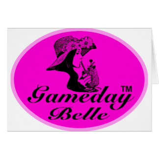 Regalos y ropa de la belleza de Gameday Tarjeta De Felicitación