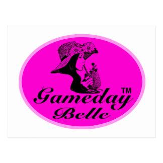 Regalos y ropa de la belleza de Gameday Tarjeta Postal