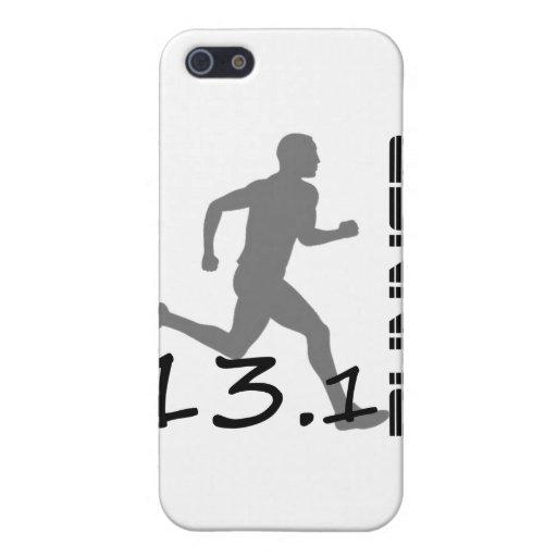 Regalos y ropa del maratón de la zona de los corre iPhone 5 carcasa
