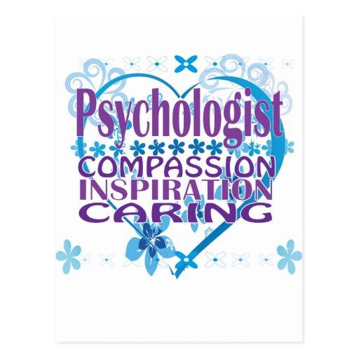 Regalos y ropa del psicólogo tarjetas postales