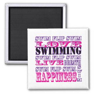 Regalos y ropa lindos de la nadada para los chicas imanes