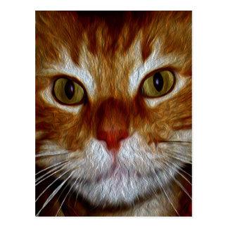 Regalos y saludos del gatito de Dickens Postal