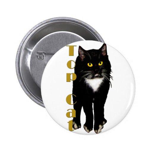 Regalos y saludos del gato del smoking pin