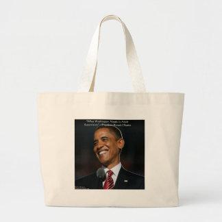 Regalos y tarjetas de la cita de Barack Obama y de Bolsa De Mano