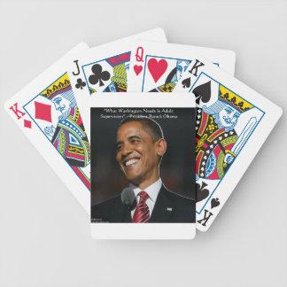 Regalos y tarjetas de la cita de Barack Obama y de Cartas De Juego