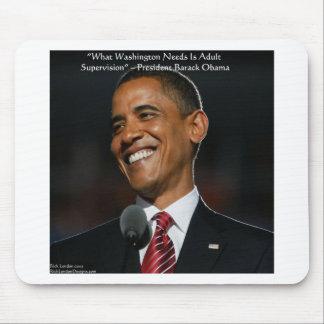 Regalos y tarjetas de la cita de Barack Obama y de Tapetes De Ratón