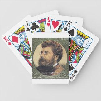 Regalos y tarjetas de la cita de la vergüenza de l barajas de cartas