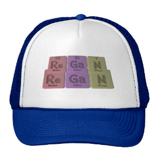 Regan as Rhenium Gallium Nitrogen Hat