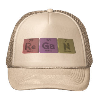 Regan as Rhenium Gallium Nitrogen Mesh Hats