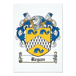 Regan Family Crest Announcements