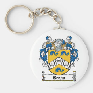 Regan Family Crest Keychain