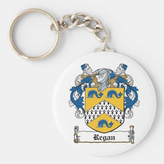 Regan Family Crest Keychain