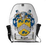 Regan Family Crest Messenger Bag