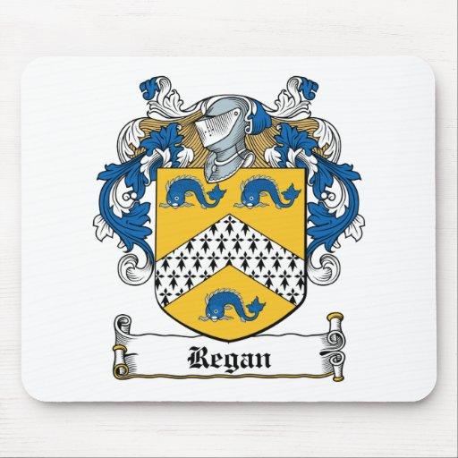 Regan Family Crest Mouse Pads