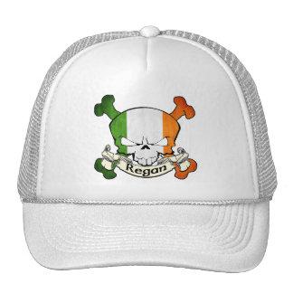 Regan Irish Skull Mesh Hat