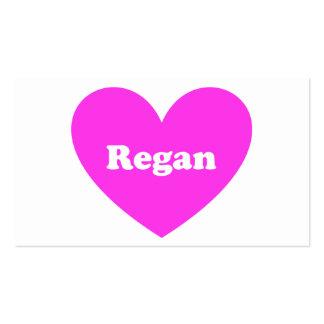 Regan Tarjetas Personales