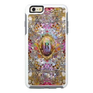 Regardez Cool kaléidoscope Protective Monogram OtterBox iPhone 6/6s Plus Case