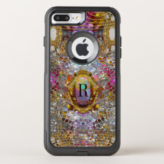 Regardez Cool Sev kaléidoscope Protective Monogram OtterBox Commuter iPhone 7 Plus Case