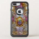 Regardez Cool Sev Kaléidoscope Protective Monogram Otterbox Commuter Iphone 8 Plus/7 Plus Case at Zazzle