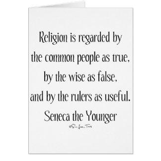 Regarding Religion Greeting Card