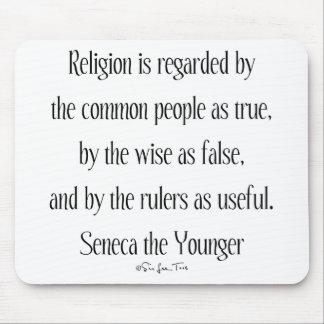 Regarding Religion Mouse Pad