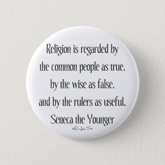 Regarding Religion Pinback Button