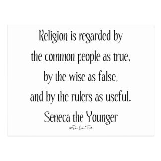 Regarding Religion Postcard