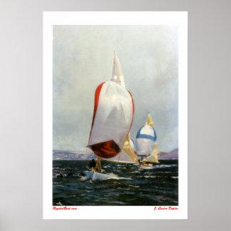 Regata/Boat race Póster