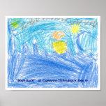 """""""Regata"""" Cameron Thibodeaux, edad 6 Impresiones"""