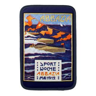 Regatas 1912 de la velocidad de Abbazia Funda Para Macbook Air