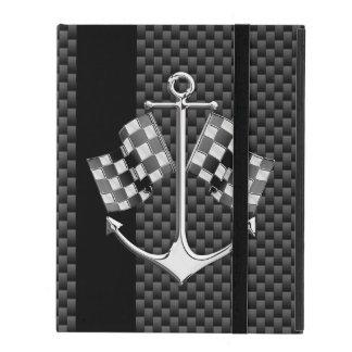Regatas náuticas en la decoración del estilo de la