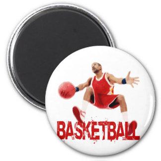 Regate del baloncesto de la calle imán redondo 5 cm