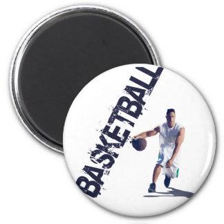 Regate del baloncesto imán redondo 5 cm