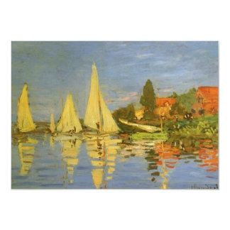 Regatta at Argenteuil by Claude Monet Card