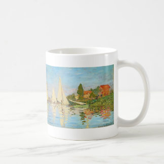Regatta at Argenteuil by Claude Monet Classic White Coffee Mug