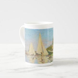 Regatta at Argenteuil by Claude Monet Tea Cup